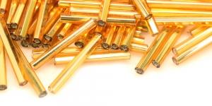 Kuldsed, metallik, kuuetahulised, 20 mm, HG98