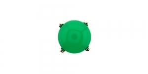 KN63/IR150 10mm Roheline piimjas plastikkristall