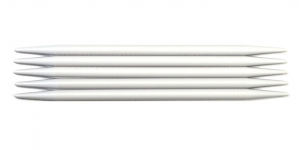 Double Pointed Plastic Knitting Needles, Pony Nr. 8,0, 20 cm