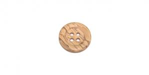 SB55 Helepruun huvitava puidumustriga naturaalne puitnööp 20 mm