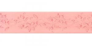 Jacquard satin ribbon, Art.38968, color No. Salmon