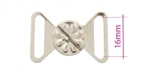 UC4, Rinnahoidja metallkinnis 16mm paelale, värv: hõbedane