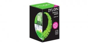 Konepesuväri DYLON Fabric Dye, UUDISTETTU - sis suolan, 350 g, Troopikinvihreä, Tropical Green #03