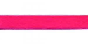 Sametpael laiusega 20mm Art.3273R, värv Nr.410 Erkroosa