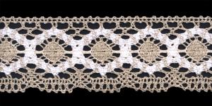 Cotton Crochet Lace 1823-N1, 7 cm