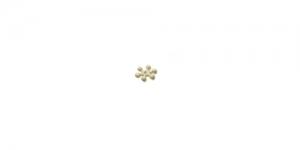 Vahedetail Kuldne, 7 x 2mm, EN160