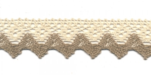 Cotton Crochet Lace 3707-L6, 4 cm