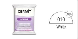 Voolimismass, polümeersavi, Cernit 56 g, OPALINE, PORCELAIN WHITE 010