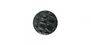 SG128 16 mm Must reljeefse mustriga plastiknööp