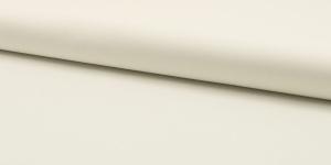 Ühevärviline õrn puuvillane kangas (Popliin), 143cm-148cm, RS0150-51, naturaalvalge