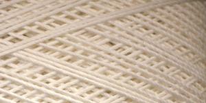 Puuvillane heegelniit Maxi; Värv 6282 (Loodusvalge) / Madame Tricote