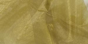 05 112cm Kuldkollane organzakangas