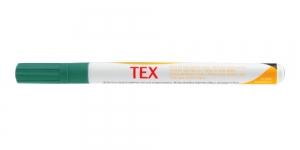 Tekstiili viltpliiats, kangamarker, peen tipp 1 mm - 3 ml Darwi TEX DARK GREEN 626