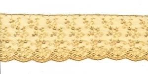 Äärepits laiusega 6,2cm D44-4028, kreemjasbeež 758