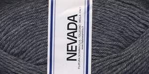 Poolvillane lõng Nevada; Värv 1232 (Tumehall), Lane Cervinia