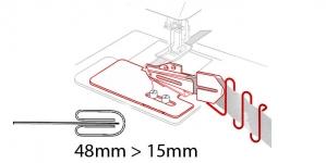 Kanti neljaks keerav kantimishuulik, 48 mm --> 15 mm, KL0026