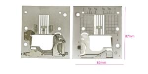 Pisteplaat otsepistele JUKI G/F seeria õmblusmasinale