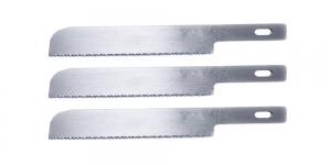 Kunstnikunoa 3 saetera, 3 Spare Saw Blades for Professional Art Knife AK-4, OLFA, KB4-WS/3