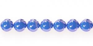 AE88 11mm Koobaltsinine ümar läbipaistmatu plasthelmes