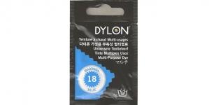 Mitmeotstarbeline riidevärv Dylon Multipurpose Die - Hand Use, 5 g, Värv 18 Madonna Blue
