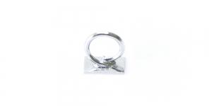 Platinum Glue-On Loop, 3,5mm, EG94