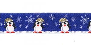 Jõulupael pingviinidega laiusega 30mm, värv 5, PG 201B