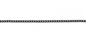 MA6 6x3,5x1mm Must alumiiniumkett