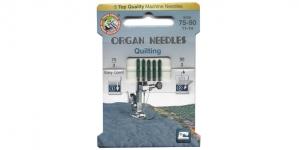 Koduõmblusmasina teppimisnõelad Quilting, Organ ökopakend Nr.75-90