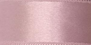 Kahepoolne luksuslik atlaspael laiusega 20mm / Art.2468 / Double Sided Satin Ribbon / värv nr. 480 Hallikas heleroosa