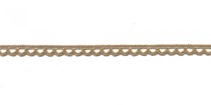 Puuvillane pits 3174-27 laiusega 0,8 cm, värv linabeež