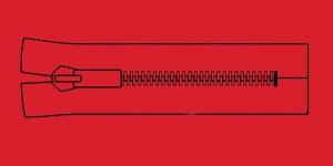Plast hammaslukk, traktorlukk, Opti 8mm, 15-16cm, alt kinni, värv 3855
