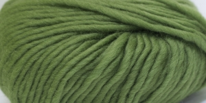 Souflé Twist Wool Yarn; Colour 16 (Moss Green), Austermann