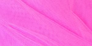 Tugev tüllkangas, 180cm, värv 39, heledam neoonikasroosa