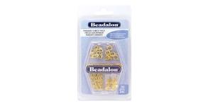 4-osaline komplekt, 132 detaili, värv: kuldne, Beadalon 356A-110