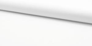 Ühevärviline õrn puuvillane kangas (Popliin), 143cm-148cm, RS0150-50, valge