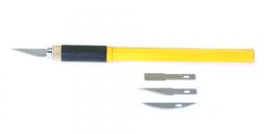 Kunstnikunuga, Professional Art Knife with 3 Blades, OLFA, AK-4