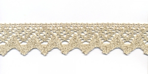 Cotton Crochet Lace 3707-L0, 4 cm