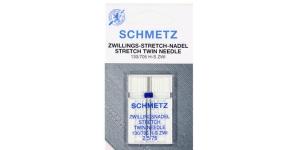Topelt-strechnõel koduõmblusmasinatele, Schmetz 2,5 mm, Nr.75