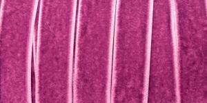 Sametpael laiusega 15mm Art.3355R / Velvet Ribbon / Värv Nr.234 Lillakasroosa