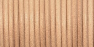 Nahkanyöri ø3 mm, väri: luonnonnahkaa, Craft Factory CF06.301