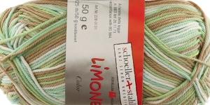 Puuvillane lõng Limone Color, Schoeller, värv 224
