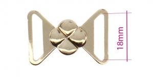 UC11, Rinnahoidja metallkinnis 18mm paelale, värv: hõbedane