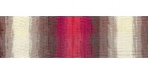 Siidja pinnaga akrüüllõng Diva Batik Design, Alize, värv 4574