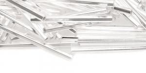 Hõbedased, metallik, tahulised, 30 mm, HL41A