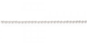 ø2,5mm ümar valge pärlmutter plasthelmes, BI11A
