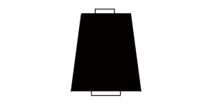 Peenike tekstureeritud niit, 10.000 m, Nr.180, Polytex, Värv: must