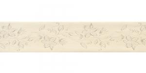 Jacquard satin ribbon, Art.38968, color No.Cappucino
