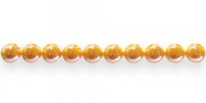 AE51 10mm Oranž ümar läbipaistmatu plasthelmes