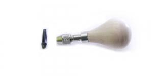 Ümar lühike puidust graveerimiskäepide, Bulb Engraving Handle, TP1