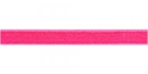 Sametpael laiusega 10mm Art.3276R / Värv Nr.410 Erk tumeroosa